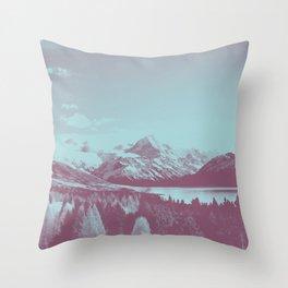 An Acorn and a Chestnut Throw Pillow