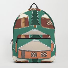 Cozy Yurts -n- Pines Backpack