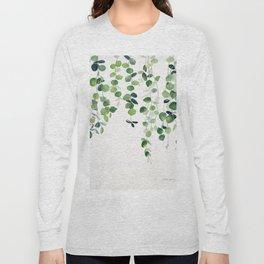 Eucalyptus Watercolor 2  Long Sleeve T-shirt