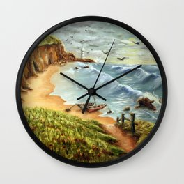 Strumble Head, Pembrokeshire Wall Clock