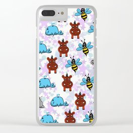 W animals Clear iPhone Case