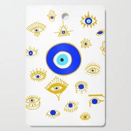 evil eye Cutting Board