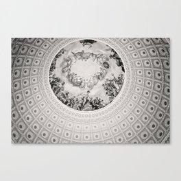E Pluribus Unum - Capitol Rotunda Washington DC Canvas Print