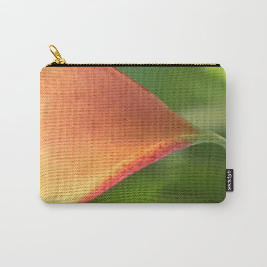 Crying Calla Lily Carry-All Pouch