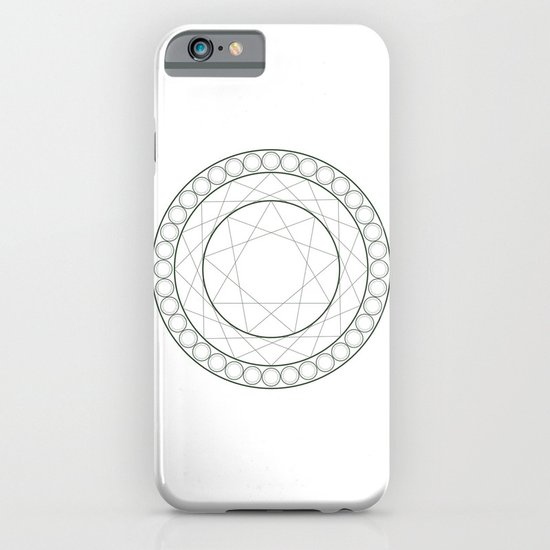 Anime Magic Circle 12 iPhone & iPod Case