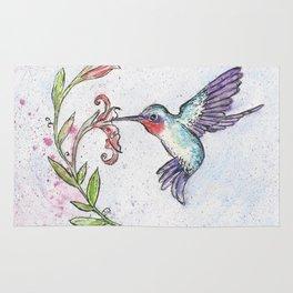 Winsome Hummingbird Rug