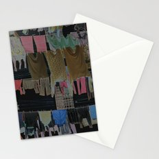 Hanging Laundry pt2  Stationery Cards