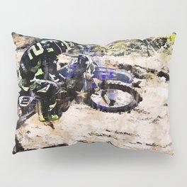 Wild Ride - Motocross Rider Pillow Sham