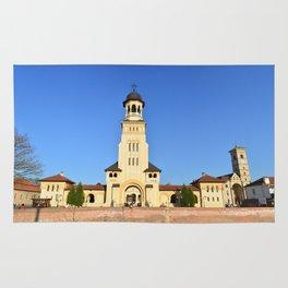 Alba Iulia city landmark Rug
