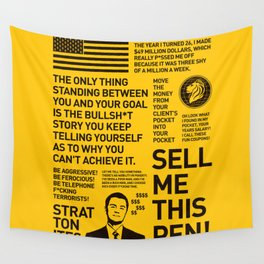 The Wolf of Wall Street Wall Tapestry