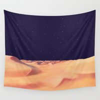 desert Wall Tapestries featuring Desert by Anas Kadhim