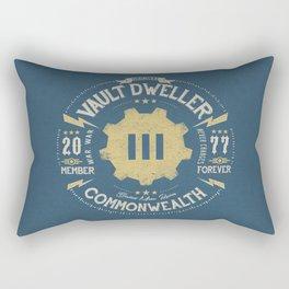 Vault 111 Member Forever Rectangular Pillow