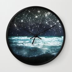 The Greek Upon the Stars Wall Clock