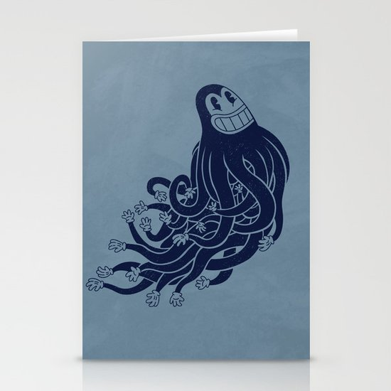 Octadecapus Stationery Cards