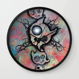 "Lucky goes pop n""2 Wall Clock"