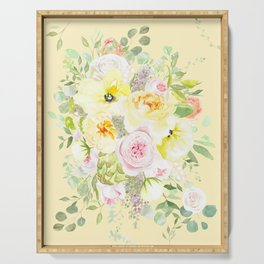 Doro Floral Serving Tray