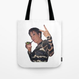 Peace Out Kris Jenners Tote Bag