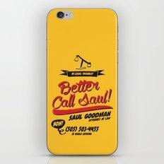 Better Call Saul iPhone & iPod Skin
