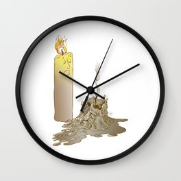 Born to burn Wall Clock