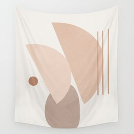 Abstract Shapes No.20 Wall Tapestry
