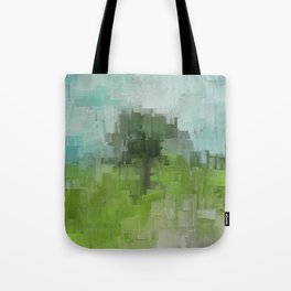 Spring Breeze Abstract Expressions Tote Bag