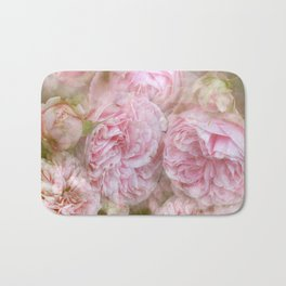 Vintage English Roses Bath Mat