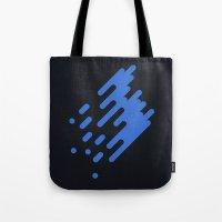 run Tote Bags featuring Run by uzgunumleyla