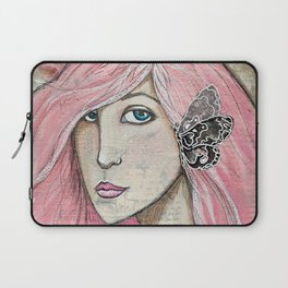 Time Enough Mixed Media Laptop Sleeve
