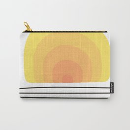 Vintage Sunset Carry-All Pouch