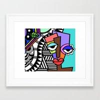 artsy Framed Art Prints featuring Artsy by Andrea Silvestri