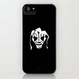 LA Park Mask Design iPhone Case