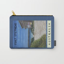 Travel Poster One Mile, NSW Carry-All Pouch