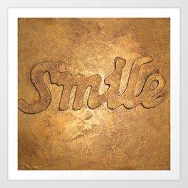 Smille Art Print