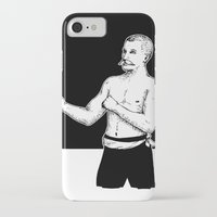 boxer iPhone & iPod Cases featuring Boxer by Moose van Papendorp