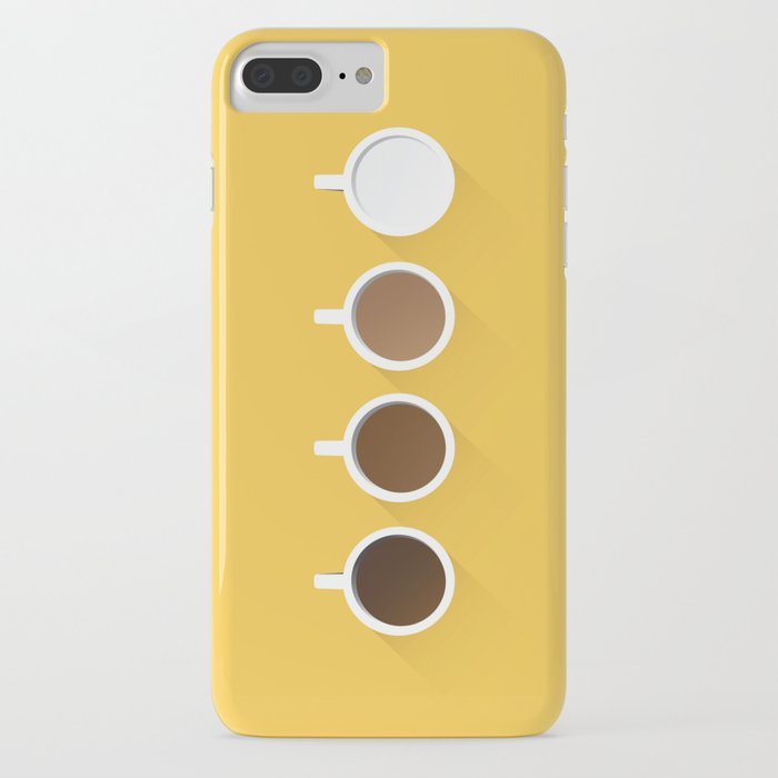 coffee + simplicity iphone case