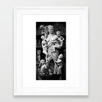 madonna Framed Art Prints featuring Madonna by Aspect Jones