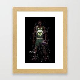 Reign Man Framed Art Print