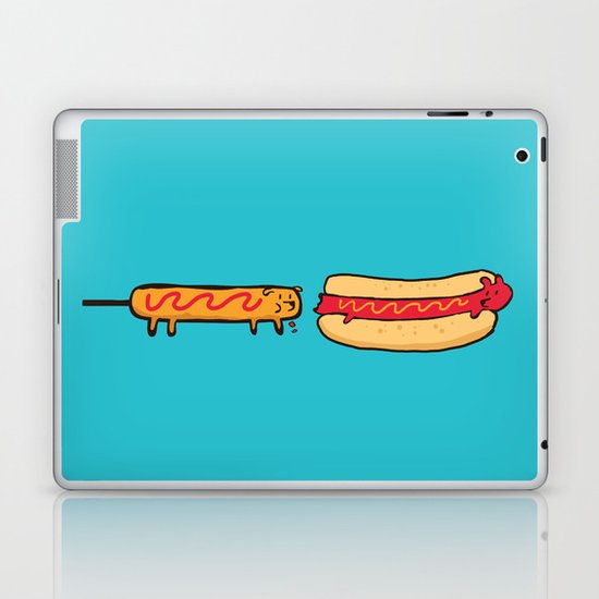 Dog Eat Dog World Laptop & iPad Skin