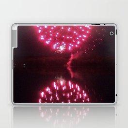 Big Red Fireballs Laptop & iPad Skin