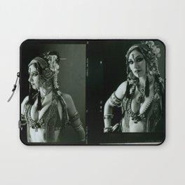 Old Contact Sheet of Rachel Brice 2 Laptop Sleeve