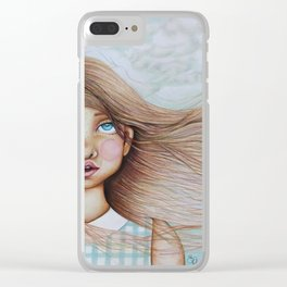 The Sound of the Wind Clear iPhone Case