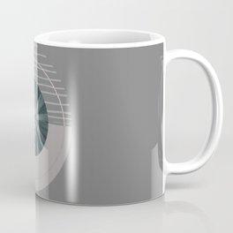 Nature Meets Geometry Circles II Coffee Mug