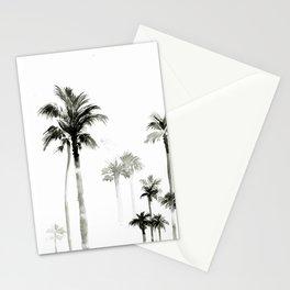 Shadow palms Stationery Cards