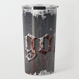 agony rusted metal Travel Mug