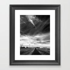 My View of Twenty Nine March (Morning) - South Framed Art Print