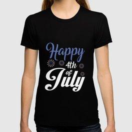 Happy 4th of July design - USA Gift Present Souvenir T-shirt