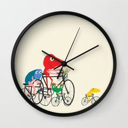 Bike is Life Wall Clock