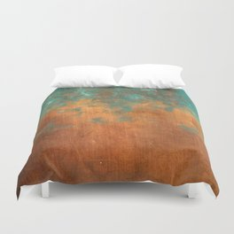 Green conquers all Duvet Cover