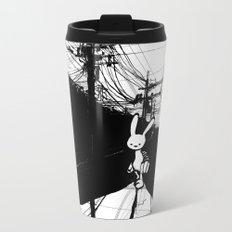 minima - beta bunny / noir Metal Travel Mug