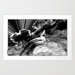 asc 615 - La volupté des formes (The voluptuousness of painting) Art Print